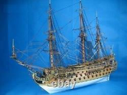 Classique Diy Modèle Navire Assembler Kits Invincible Armada Le Navire De Guerre San Felipe