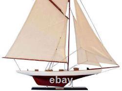 Columbia 42 Wood Sailing Yacht Modèle Bateau À Voile Modèle De Navire Sailin