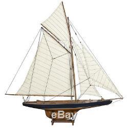 Columbia Coupe De L'america 1901 J Class Yacht Modèle 37 Construit En Bois Bateau