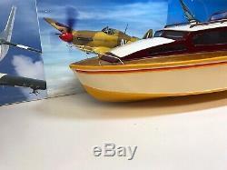 Commander Vintage Aerokits Sea Modèle Bateau Kit De Construction