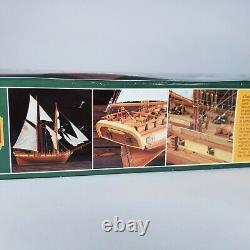Constructo 151'entreprise' Schooner Maryland 1799 Modèle De Navire En Bois Scellé Nouveau