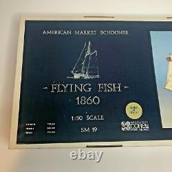 Corel Flying Fish 1860 Goélette Du Marché Américain 150 Scale Wood Model Kit Sm19