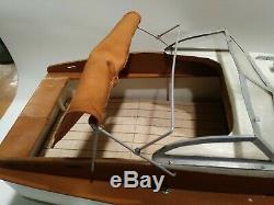 Craft Vintage Chris Wood Modèle 16 Pouces Art Boat Bateau Projeter