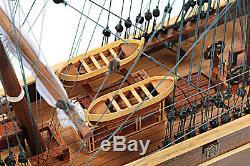 Cutty Sark En Bois Chine Clipper Grand Modèle Bateau 34 Bateau Entièrement Assemblé