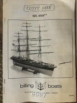 Cutty Sark Modèle Navire Kit. Billing Boats Danemark Long 43