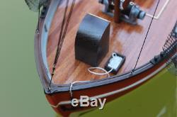 Danois Bateau De Pêche Rc Modèle 1/18 610 MM Modèle En Bois Kit Navire