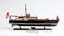 Dauphin Cruiser Sports Yacht 26 Construit Bateau À Maquette En Bois Bateau Assemblé