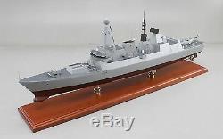 Destroyer Daring Classe Royal Navy Royaume-uni Affichage Bateau Modèle Personnalisé En Bois