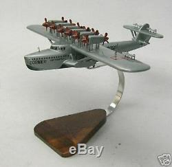 Do-x Flying Boat Dornier Avion Bureau En Bois Modèle Régulier Livraison Gratuite
