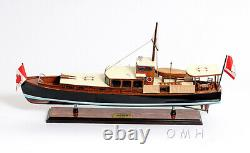 Dolphin Canadian Motor Yacht Wooden Model 26 Power Pleasure Boat Entièrement Construit