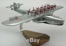 Dornier Do-x Hydravion Hydravion Avion Bois Modèle XXL Livraison Gratuite