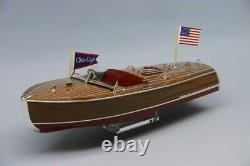 Dumas #1254 1941 Chris-craft 16' Hydroplane Model Boat Kit Scale 1/8