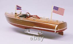 Dumas #1254 1941 Chris-craft 16' Hydroplane Modèle Bateau Échelle 1/8