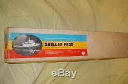 Dumas Boat Shelley Foss Harbour Remorqueur # 2312 Maquette En Bois De 36 '' Vintage