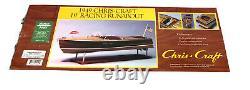 Dumas Boats 1249- 1949 19' Chris Craft Racing Runabout 28- Modèle Kit