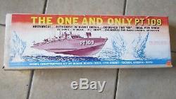 Dumas Boats Le Seul Et Unique Modèle Pt 109, Kit 33, Kit Long # 1201