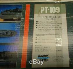 Dumas Pt109 Torpedo Modèle Bateau Kit. Nouveau
