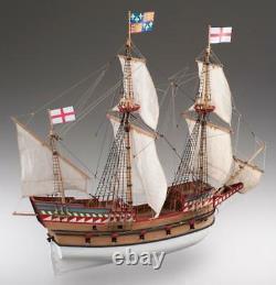 Dusek Golden Hind 1577 172 Échelle D017 Modèle Boat Kit