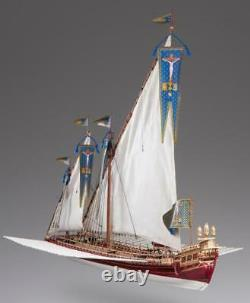 Dusek La Real 172 Échelle D015 Modèle Boat Kit