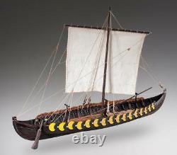 Dusek Viking Ship Gokstad 135 Échelle D006 Modèle Boat Kit