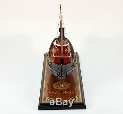 Edmond J. Moran Tugboat Handcrafted Modèle Bateau 24 Qualité Musée