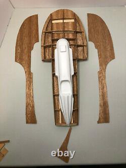 En Boîte Vintage Dumas Boat Model Kit Miss Thriftway Acajou Bois Hydroplane