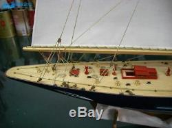 Endeavour America's Cup J Class Yacht En Bois, Maquette De Bateau 18 Bateau Voilier