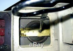 Énorme 31 Antique Triang Britannique Marchand Wind Up Clockwork Modèle Bois Bateau Jouet