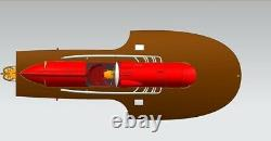 Ferrari Arno. XI F1 Racing Boat 830 MM Rc Kit De Navire Modèle En Bois