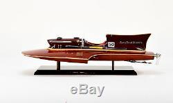 Ferrari Hydroplane 22, Bateau De Course En Bois Fabriqué À La Main