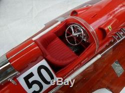 Ferrari Hydroplane L80 Bateau À Moteur En Bois De Haute Qualité En Bois