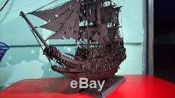 Flying Dutchman Pirates Navires 50cm. Maquettes Bateaux En Bois Collection Grand Cadeau