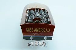 Gar Wood Miss America X 32 Modèle En Bois Fabriqué À La Main Modèle De Bateau De Course