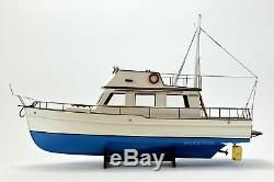 Grand Banks 32 Yacht Handmade Bateau En Bois Modèle 38 Rc Ready Top Qualité