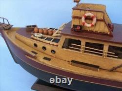 Hampton Nautical Jaws Orca Modèle Bateau De Pêche Entièrement Assemblé