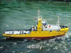Happy Hunter Salvage Tug Boat Avec Des Raccords 150 Krick Robbe Rc Modèle Kit