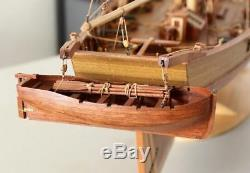 Harvey Sailboat Scale 1/50 921mm 36.2 Wood Model Ship Kit Kit De Bateau