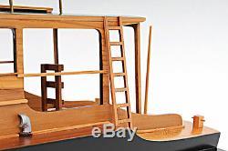 Hemingway Pilar Pêche Bateau 28 Modèle Bois Assemblé