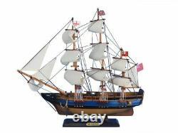 Hms Endeavour 20 Wood Ship Modèle Grand Navire Hms Endeavour Modèle