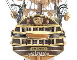 Hms Surprise Tall Ship 37 Built Wood Model Saleboat En Movie Master Et Comman
