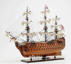 Hms Victory Admiral Nelson Flagship Tall Ship Wood Modèle Assemblé
