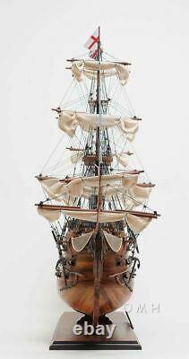 Hms Victory Admiral Nelsons Flagship Tall Ship Wood Modèle Voilier Assemblé