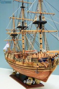 Hmy Royal Caroline 1749 Échelle 1/50 Maquettes De Bateau En Bois, Kit De Bateau À Voile