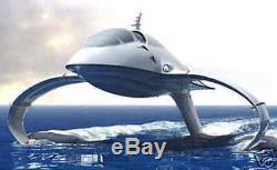 Hydroptère Roumanie Extreme Boat Bois Modèle Bateau Libre Nouveau