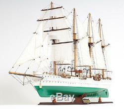 J. S. Elcano Marine Royale Espagnole Tall Ship 37 Bois Modèle Bateau Assemblé