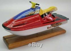Jet Ski Yamaha Waverunner Ski Boat Wood Model XXL Nouveau Livraison Gratuite