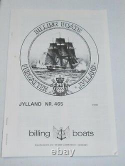 Jylland Frigate Billings Modèle Bateau Kit 1860