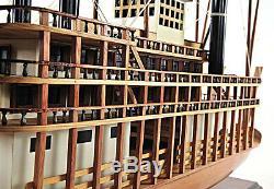 King Of Mississippi Paddlewheel Riverboat Bateau À Vapeur En Bois Modèle 30 Ferry Boat