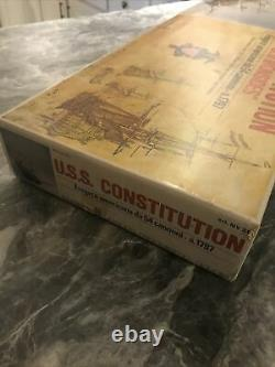 Kit De Bateau Modèle C Mamoli Wood Non Construit Mv31 U. S. Constitution 193