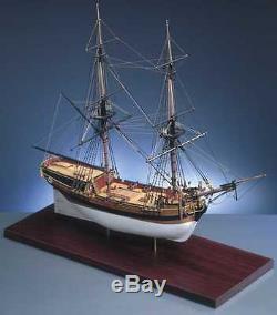 Kit De Bateau Modèle Caldercraft Hm Brig Supply 1759 164 (9005)